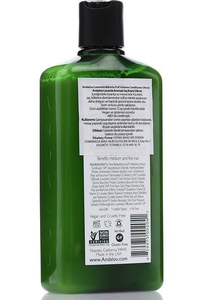Andalou Lavanta Aromalı Vegan Saç Kremi 340 ml