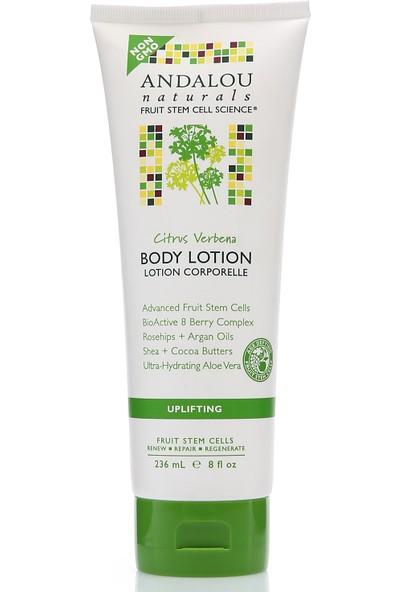 Andalou Citrus Verbena Uplifting Body Lotion / Mine Çiçeği ve Narenciye Aromalı Canlandırıcı Vegan Vücut Losyonu 236 ml