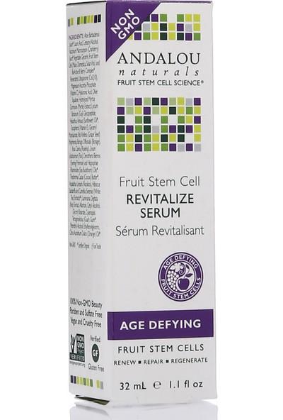 Meyve Kök Hücrelerinden Yapılmış Cilt Görünümünü Tazeleyici Vegan Yüz SERUMU32 Ml/andalou Fruit Stem Cell Revitalize Serum