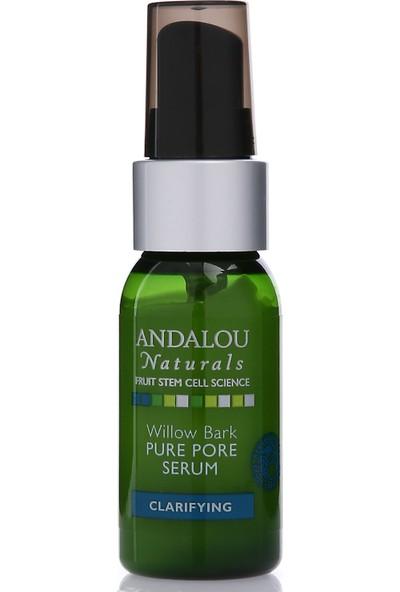 Andalou Willow Bark Pure Pore Serum/ Söğüt Kabuğu Özlü Gözenek Küçültücü Vegan Yüz Serumu 32 ml