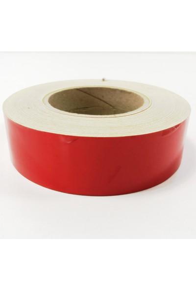 TveT 4 cm x 2,5 mt Kırmızı Reflektör Şerit T036248
