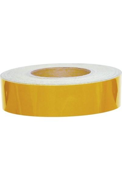 TveT 4 cm x 2,5 mt Sarı Reflektör Şerit T036249