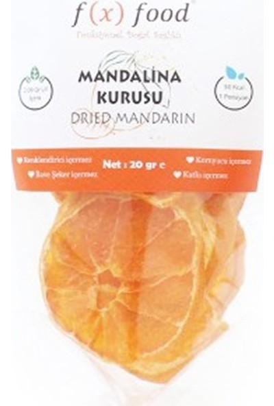 Fx Food Kurutulmuş Mandalina 20 gr
