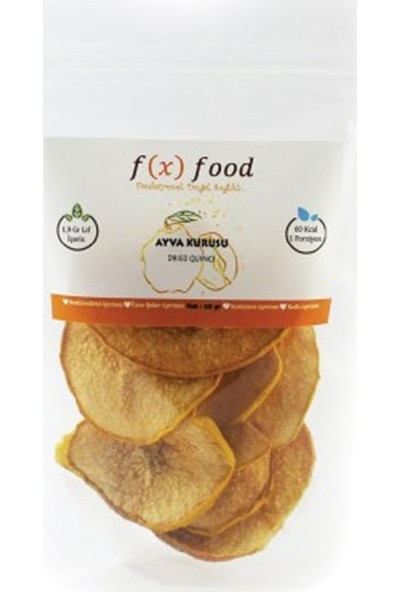Fx Food Kurutulmuş Ayva 20 gr