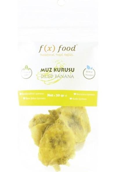 Fx Food Kurutulmuş Muz 20 gr
