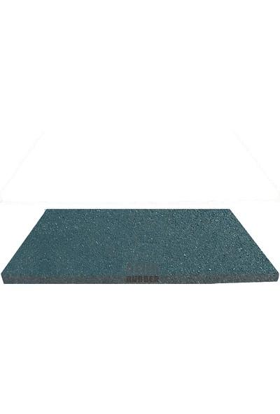 Beka Rubber Soğuk Press 100X50 cm 2 cm Yeşil Kauçuk Zemin