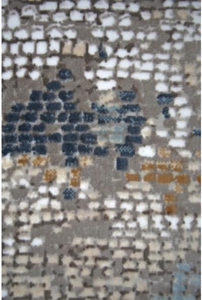 Diji Dekor Fora Mavi Kesme Halı Battaniye Yüzey Yıkanabilir Antibakteriyel Antistatik 80 x 50 cm