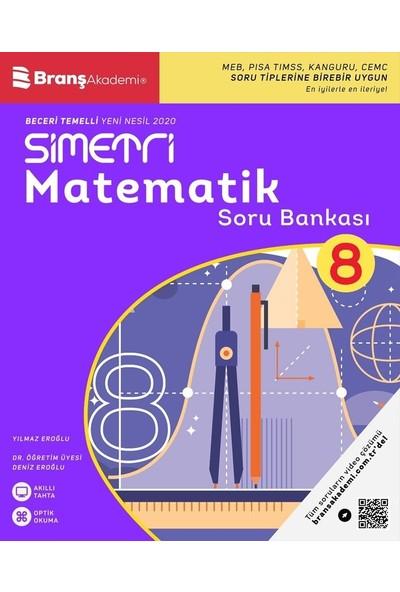 Branş Akademi 8. Sınıf Simetri Matematik Soru Bankası
