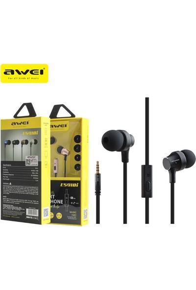 Awei ES910İ Mikrofonlu Kulaklık Siyah