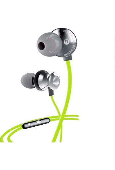 Awei S980HI Kulak Içi Kablolu Mikrofonlu Kulaklık Yeşil