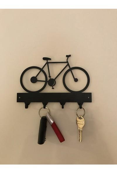 Foccaa Dizayn Bisiklet Metal Anahtar Askılık Bisiklet