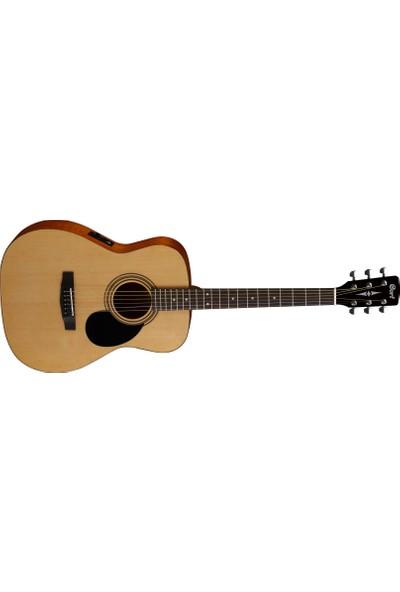 Cort Elektro Akustik Gitar Open Pore Maun AF510E-OP