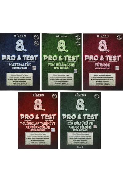 Bilfen Yayınları 8. Sınıf Pro & Test Yeni Nesil Soru Bankası Seti 5 Kitap
