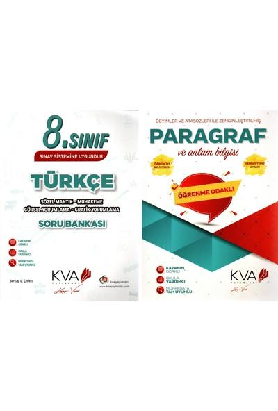 Koray Varol Akademi Yayınları 8. Sınıf Türkçe Sözel Mantık Muhakeme ve Paragraf Soru Bankası 2 Kitap