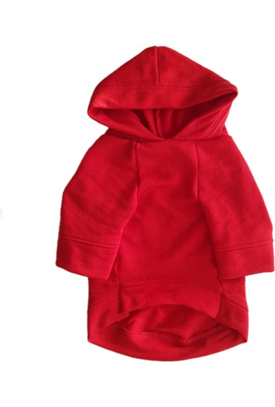 Chili Red Hero Kapşonlu Kırmızı Sweatshirt M