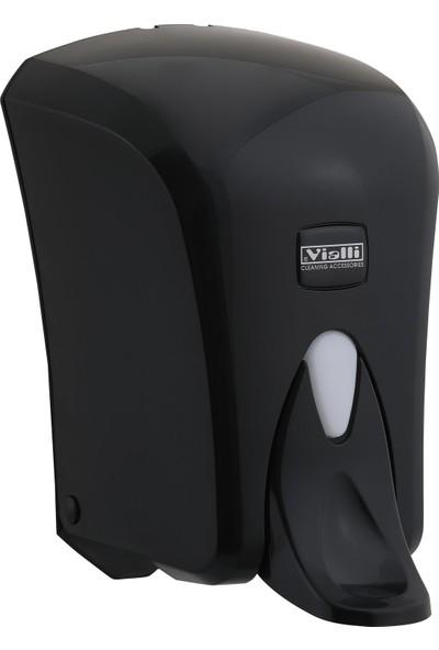 Vialli F6MB Medical Köpük Sabun Dispenseri Siyah 1000 ml