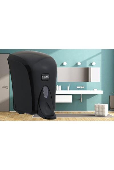Vialli S6MB Medical Sıvı Sabun Dispenseri Siyah 1000 ml