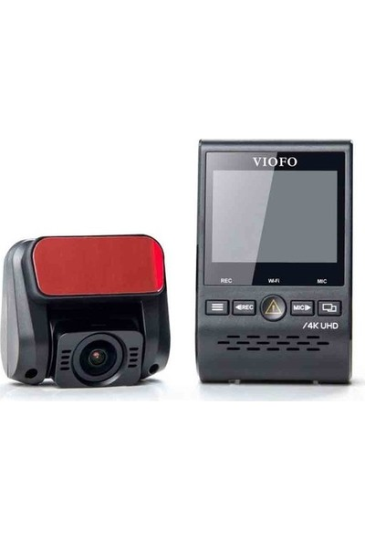 Viofo A129 Pro Duo 4K Gps'li Akıllı Araç Kamerası