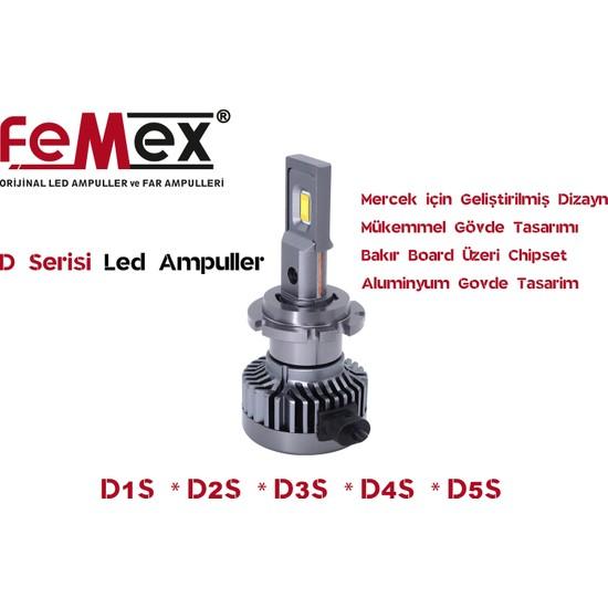 FEMEX D2S D SERİSİ DX COSMO TX-CSP Led Xenon Led Headlight