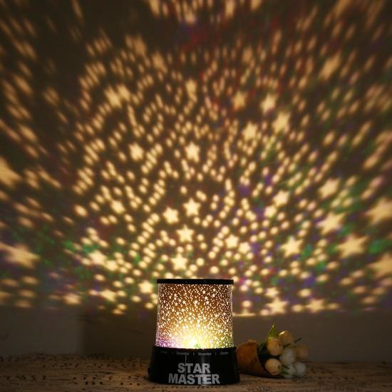 Star Master Renkli Yıldızlar Sky LED Gece Işığı