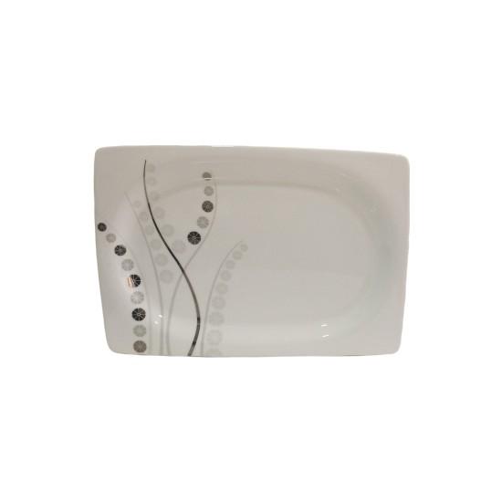 Kütahya Porselen Model Porselen Servis Tepsisi 1 Adet 34 x 23 cm