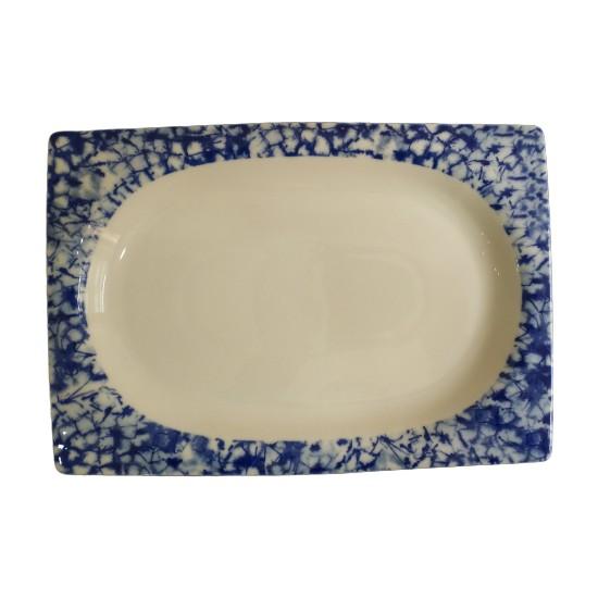 Kütahya Porselen Porselen Servis Tepsisi 34 x 23 cm