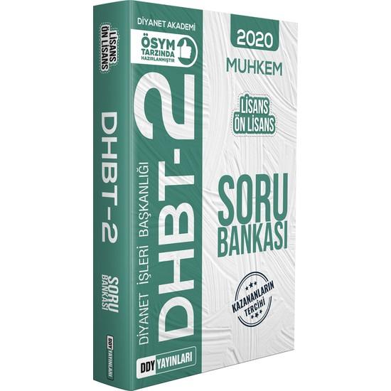 Ddy Yayınları DHBT 2 2020 Muhkem Serisi Lisans-Önlisans Soru Bankası