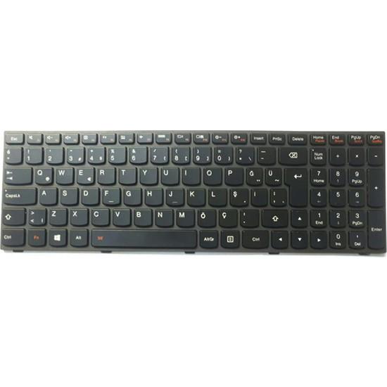 INF Lenovo G50-70 G5070 Notebook Klavye - Tuş Takımı / Siyah - Tr - Muadil