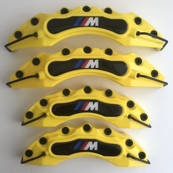 Newdizayn Kaliper Kapağı 4'lü Set Takım M Technic Sarı Renk