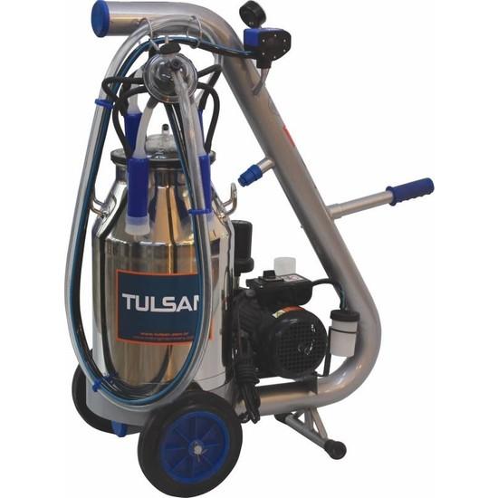 Tulsan Tempo Tip Tek Sağım Alüminyum Güğüm 40 lt