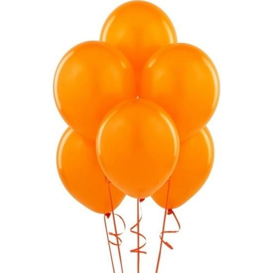 Datapos Metalik Turuncu Balon 5 Adet