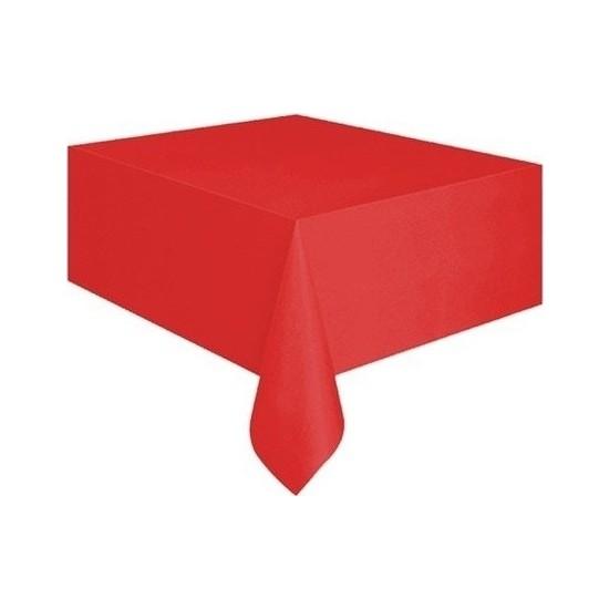 Datapos Kırmızı Plastik Masa Örtüsü 120X180 cm