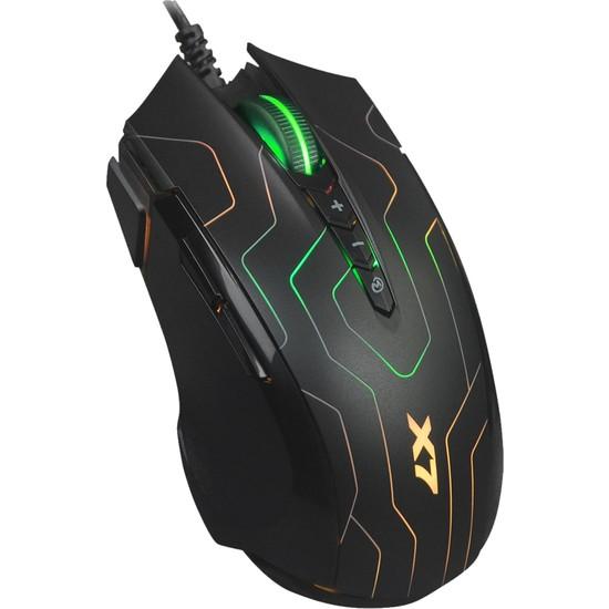A4 Tech X7 Oscar Neon X89 Maze 2400DPI USB Makrolu Oyuncu Mouse