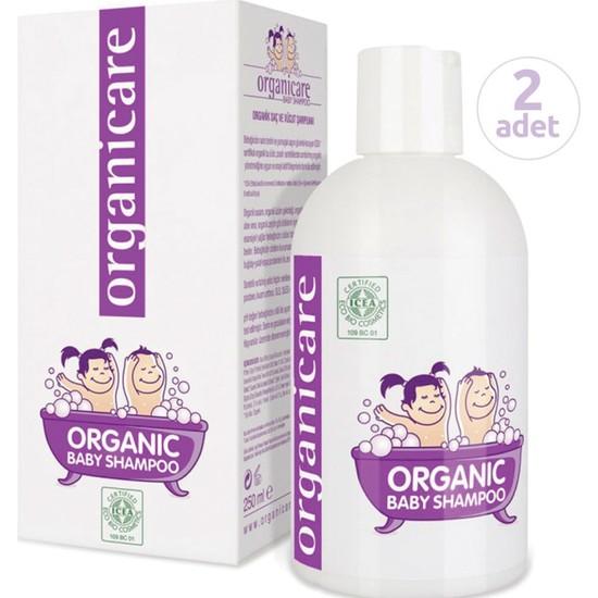 Organicare Organik Bebek Şampuanı 250 ml x 2 Adet