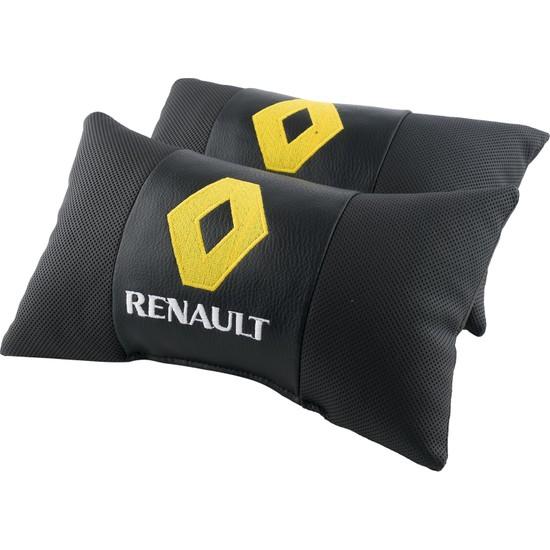 Coalo Renault Logo Oto Boyun Yastığı 2'li