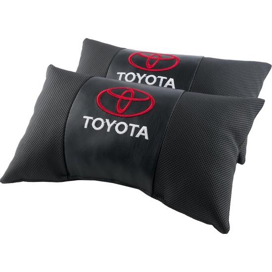 Coalo Toyota Logo Oto Boyun Yastığı 2'li