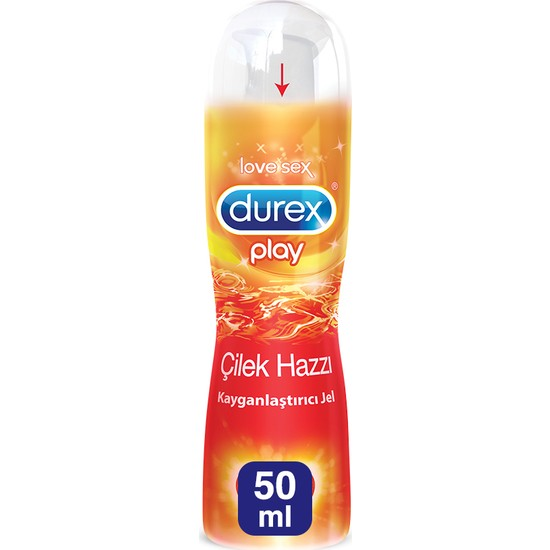 Durex Play Kayganlaştırıcı Jel Çilek Hazzı 50 ml
