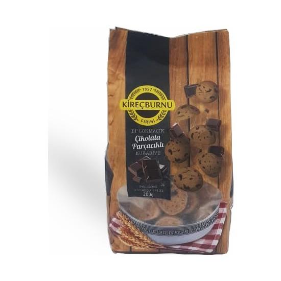Kireçburnu Fırını Çikolata Parçacıklı Bi Lokmacık Kurabiye 200 gr