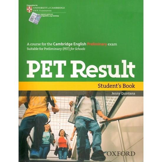 Oxford Yayınları PET Result Student's Book