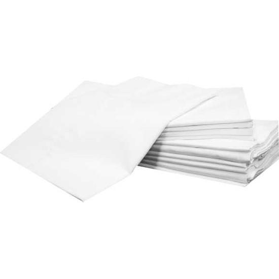 Evren Ev Tekstil Yastık 4 Adet Iç Kılıf Beyaz Fermuarlı Şilte 50 x 70 cm Pamuk