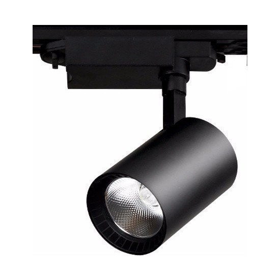Elıght Ledli Ray Spot Siyah Kasa 30 Watt Günışığı 3000K