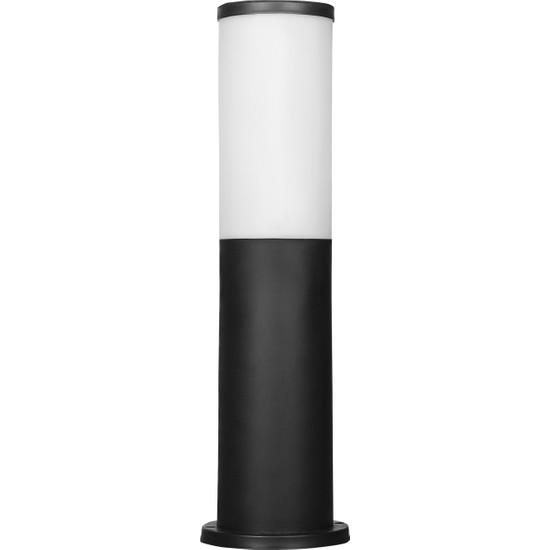 Zita Bahçe Set Üstü Armatür Kule Uzun Siyah Ip54 42 cm
