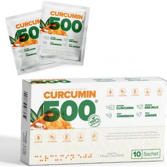 Patina Curcumin 500 Detox 10 Şase x 6 gr 10 Günlük Kullanım