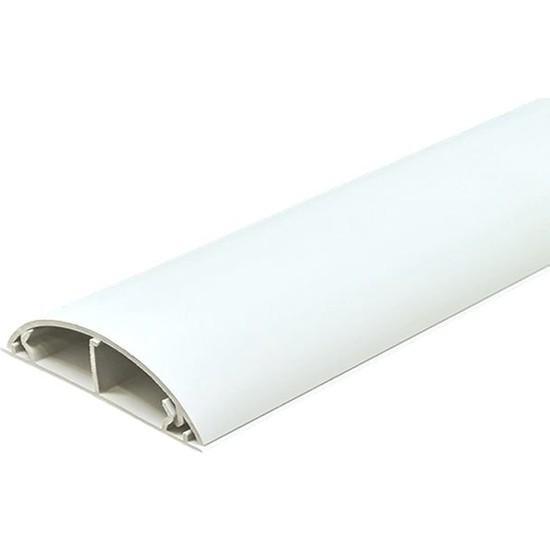 A Plus Elektrik 50 x 12 mm Balık Sırtı Bantsız Kablo Kanalı Beyaz 14 x 1,5 m
