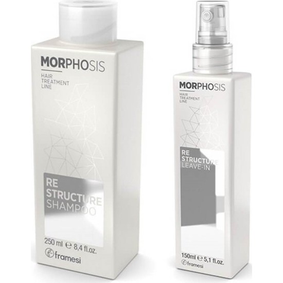 Framesi Morphosis Re-Structure Kit Express Beauty Şampuan