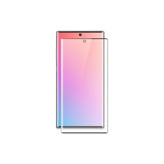 Dafoni Samsung Galaxy Note 10 Curve Mat Darbe Emici Full Ekran Koruyucu Film