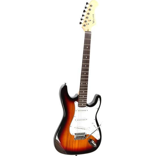 Victor Elektro Gitar Sunburs