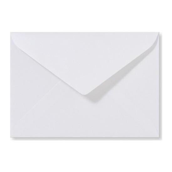 Asil Mektup Zarfı Beyaz 110Gr 11.4X16.2 100Lü