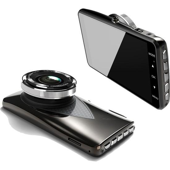 "Joyecar 4"" Full HD IPS Touch Ekran Dual Lens Araç Kamerası"