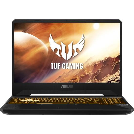 """Asus Tuf Gaming FX505DU-BQ024 R7-3750H 8GB 512GB SSD GTX1660TI Freedos 15.6"""" FHD Taşınabilir Bilgisayar"""
